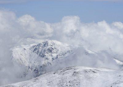 Anne Thebault - Montagne enneigée
